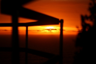 Sunset Railing