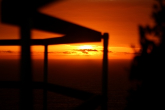Sunset Railing